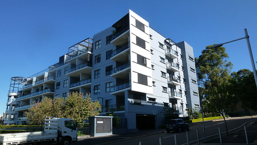 Strata painting in Meadowbank