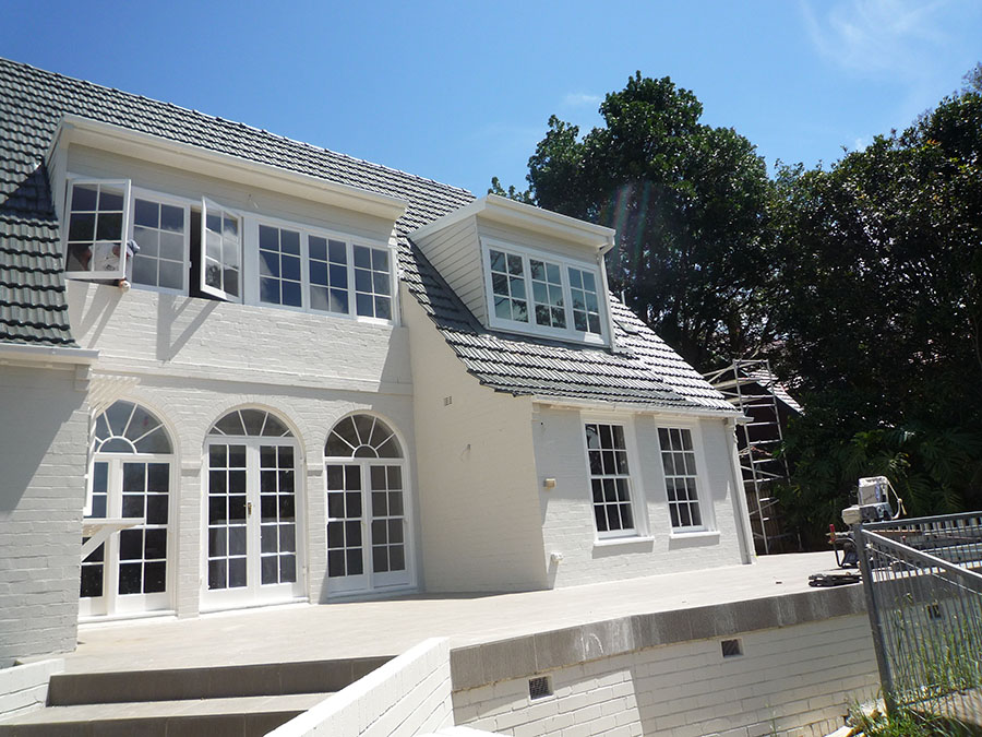 Internal & external painting of a house in Pymble